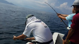 Double strike Ruby snapper di Alor I Fishing-mancing.com