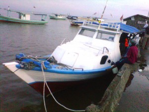 Kapal mancing Fajar as of 13 Mar 2013