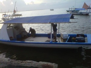 Tampak samping kapal mancing Bintang Fajar as of 13 Mar 2013
